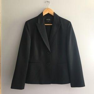 🖤 Kasper Black Pinstripe Blazer Suit Jacket 🖤